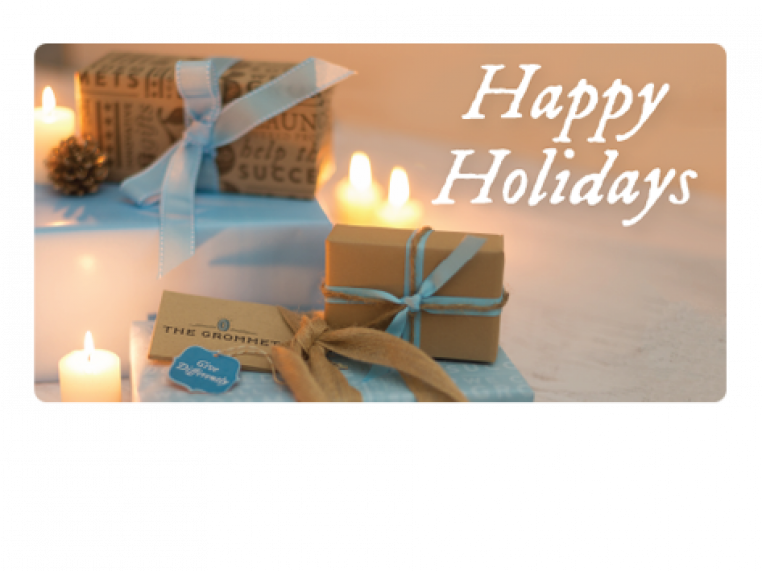 Happy Holidays 2 by Email Gift Card - 1