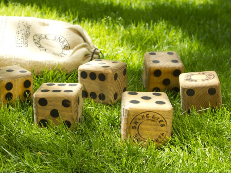 Original Yard Dice by Snake Eyes - 1