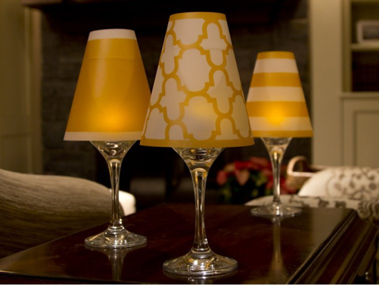 Wine Glass Shades by di Potter - 1