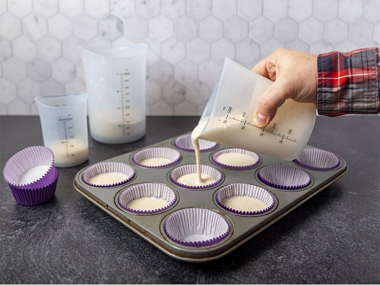 Flex-it Flexible Silicone Measuring Cups - Set of 3 by iSi - 1