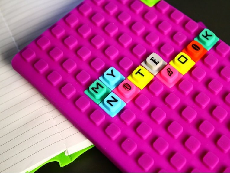 Silicone Notebook & Cubes Set by WAFF - 1