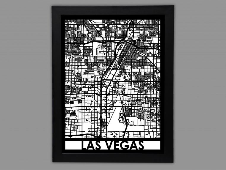 Laser Cut Worldwide City Map by Cut Maps - 26