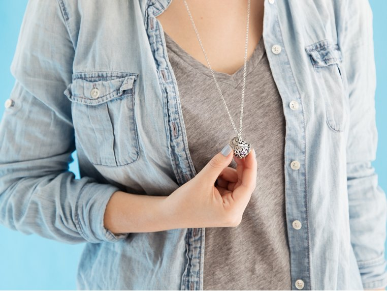 Angel Wing Locket by Yourself Expression - 2