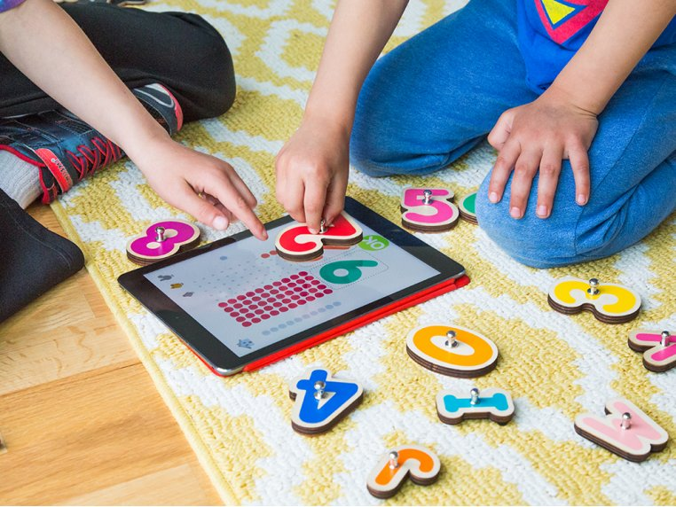 Smart Numbers + Letters Learning Toy by Marbotic - 2