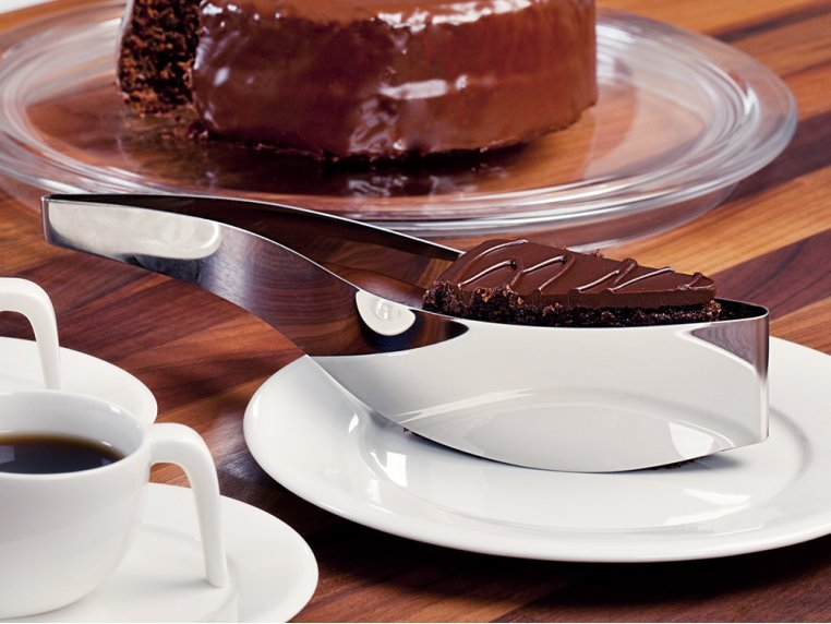Stainless Steel Cake Server by Magisso - 2