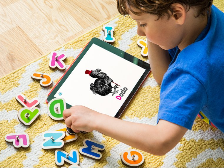 Smart Numbers + Letters Learning Toy by Marbotic - 3