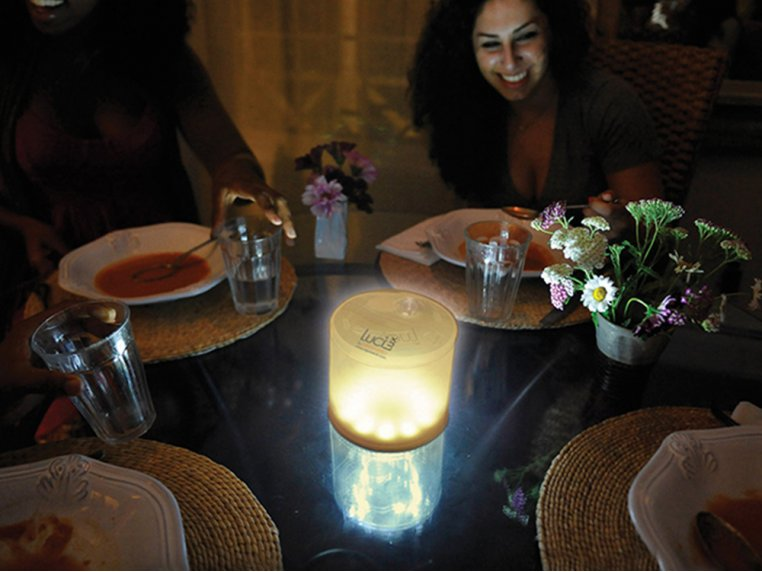 Inflatable Solar Lantern - Warm by Luci Lux by MPOWERD - 3