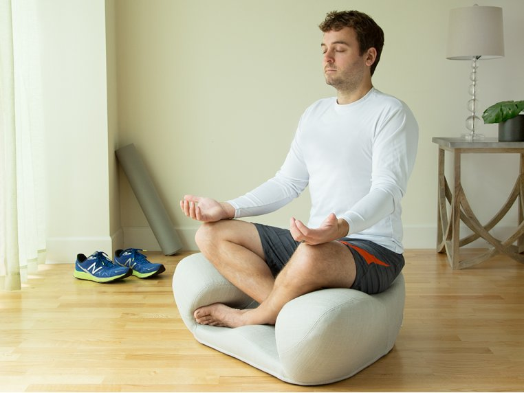 Ergonomic Meditation Seat - Fabric by Alexia - 1