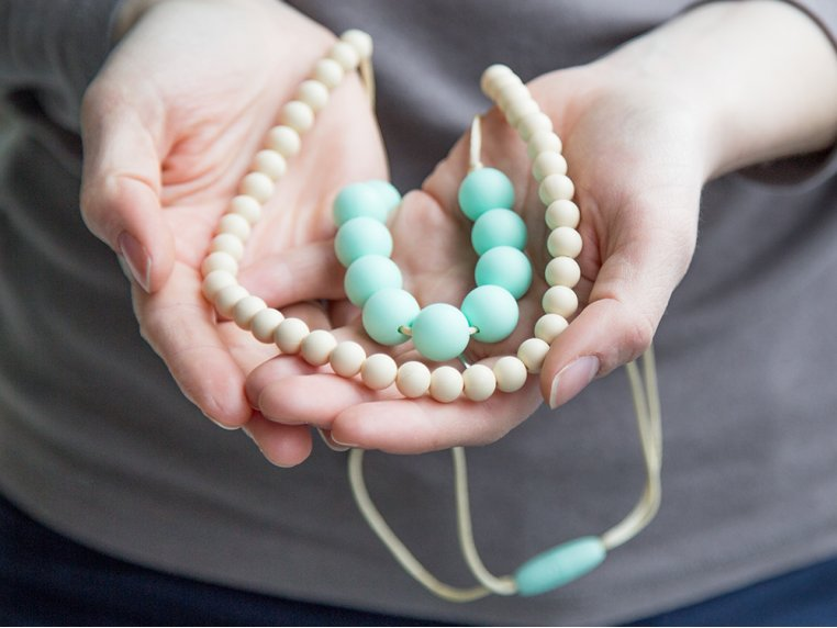 Deila Silicone Teething Necklace by Mama & Little - 4
