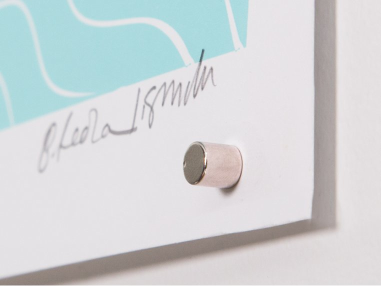 Magnetic Push Pins Pack by The Magnetack - 4