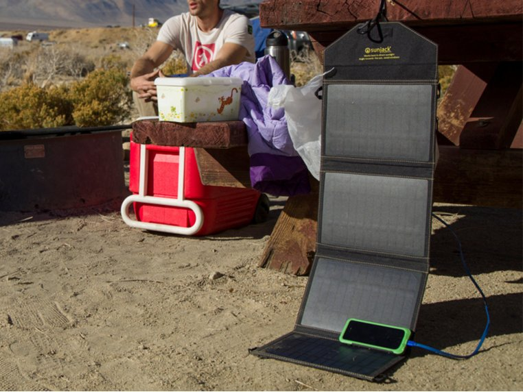 Portable Solar Charger 14W by SunJack - 5