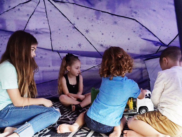 Kids' Indoor Play Tent by AirFort - 6