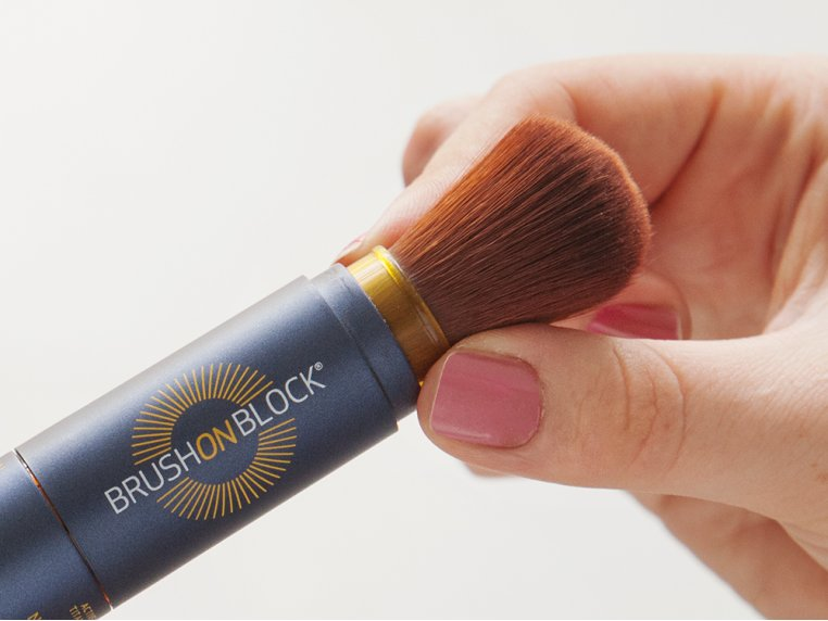 Mineral Powder Sunscreen by Brush On Block - 5