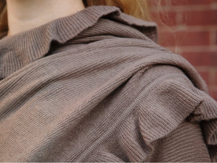 City Ruffle Shawl by AprilMarin - 8