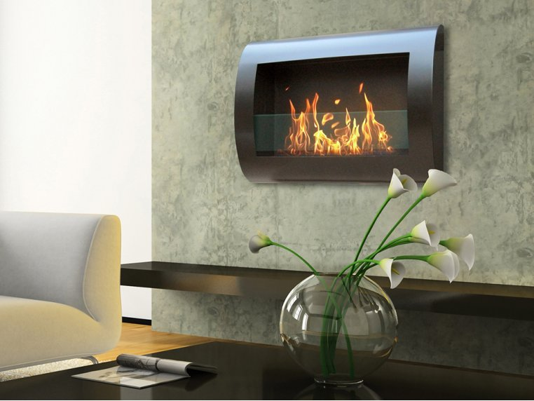 Chelsea Wall Mount Indoor Fireplace by Anywhere Fireplace - 1
