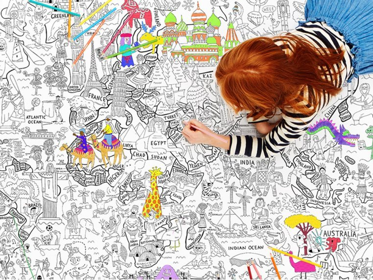 Really Big Coloring Poster by Pirasta - 2