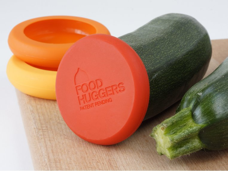Silicone Food Savers - Set of 4 by Food Huggers - 3