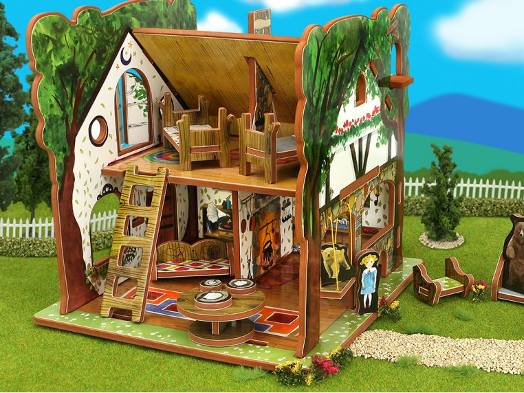 House & Storybook by Storytime Toys - 2