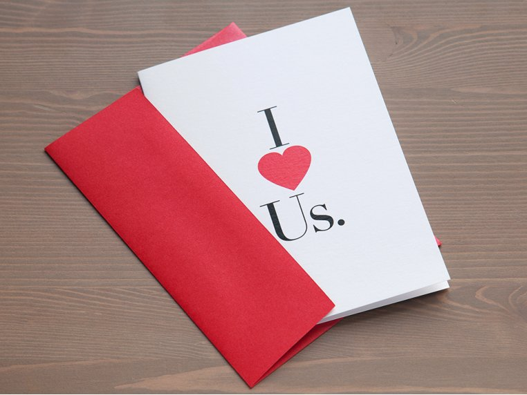 I (Heart) Us Greeting Card by Design With Heart - 4