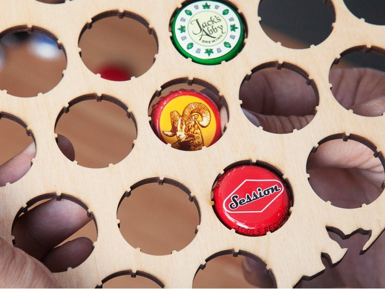 USA Beer Cap Trap by Torched Products - 6