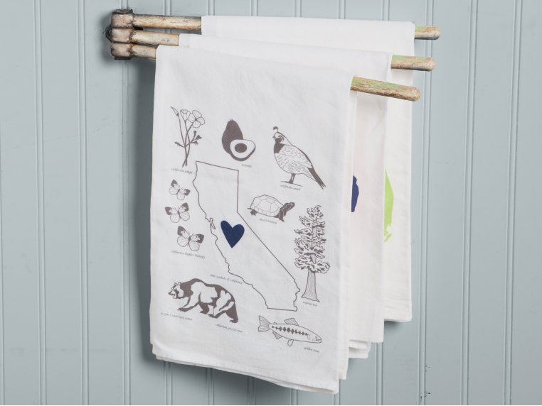 Love My State Hand Towels by Coast & Cotton - 3