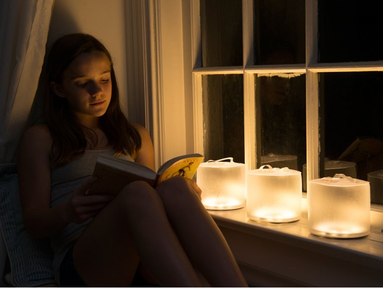 Inflatable Solar Lantern - Warm by Luci Lux by MPOWERD - 1