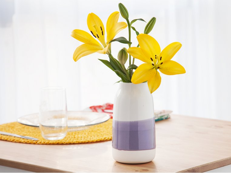 Porcelain Milk Vase - Medium by Robert Siegel Studio - 1