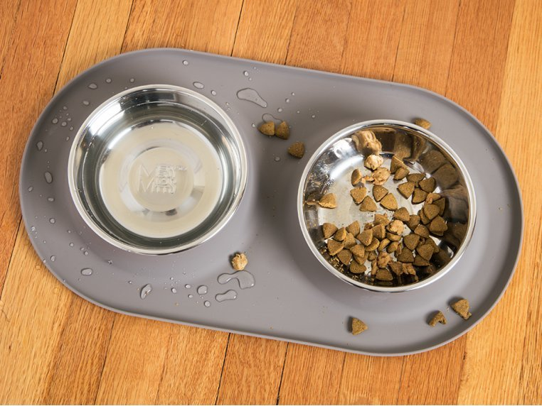 Dog Double Feeder Bowl by Messy Mutts - 2