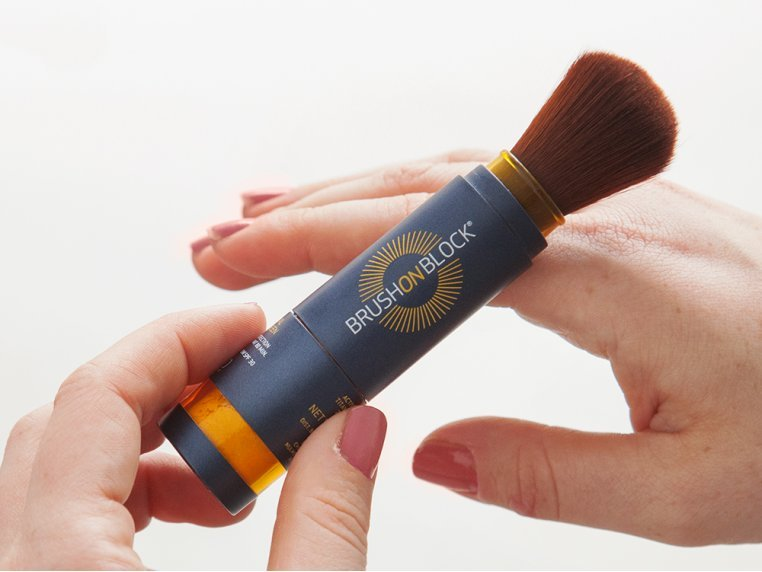 Mineral Powder Sunscreen by Brush On Block - 4