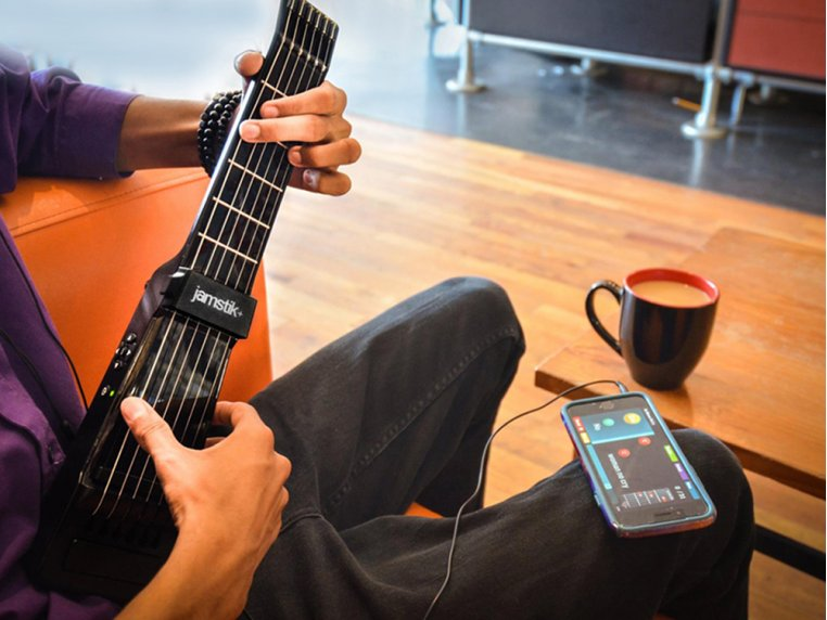 Bluetooth Connected Guitar by Jamstik+ - 3