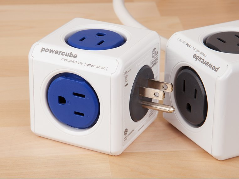 Dual USB Outlet Adapter by PowerCube - 2