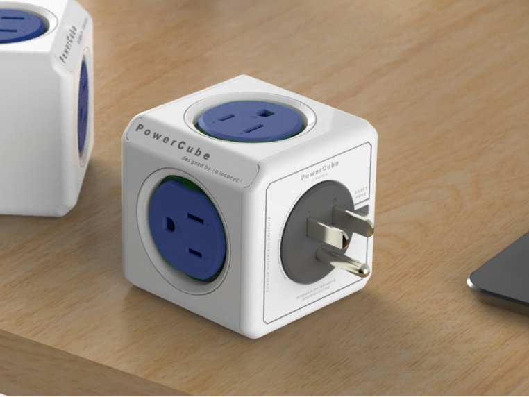 Dual USB Outlet Adapter by PowerCube - 3