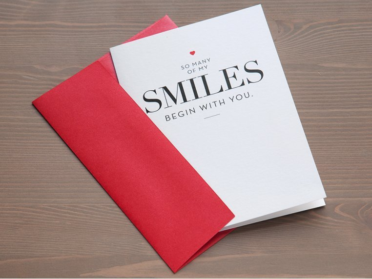 """""""So Many Smiles"""" Greeting Card by Design With Heart - 3"""