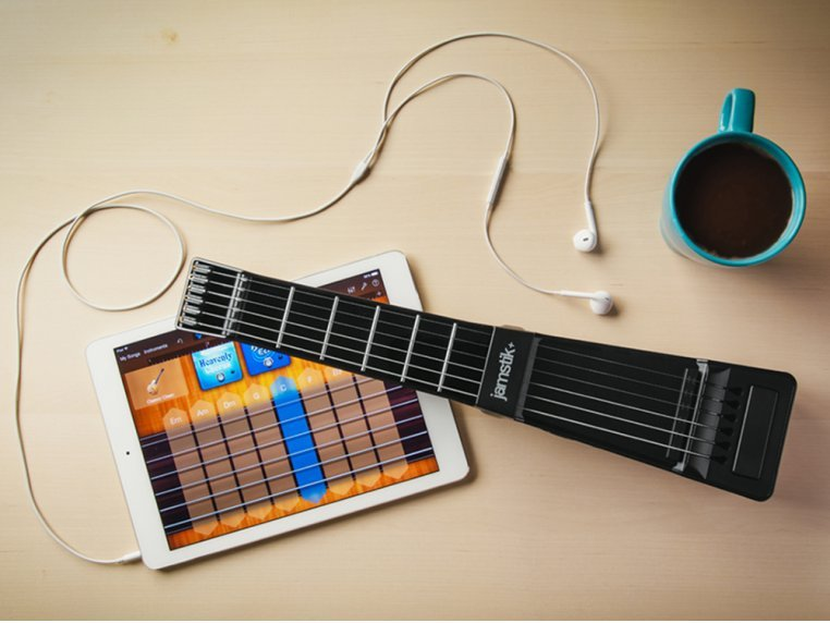 Bluetooth Connected Guitar by Jamstik+ - 5