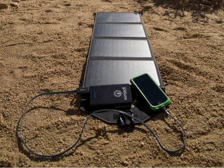 Portable Solar Charger 14W by SunJack - 2