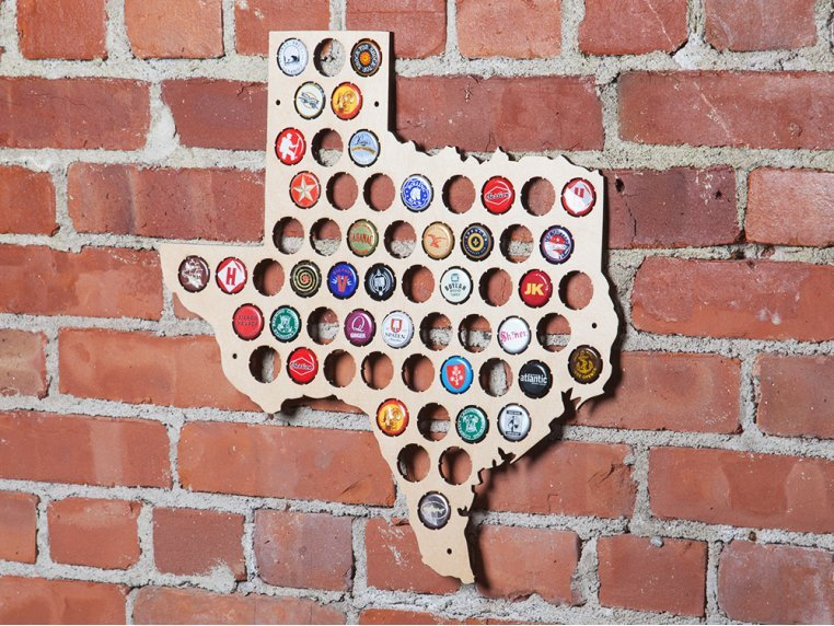Choose Your State Beer Cap Trap by Torched Products - 2