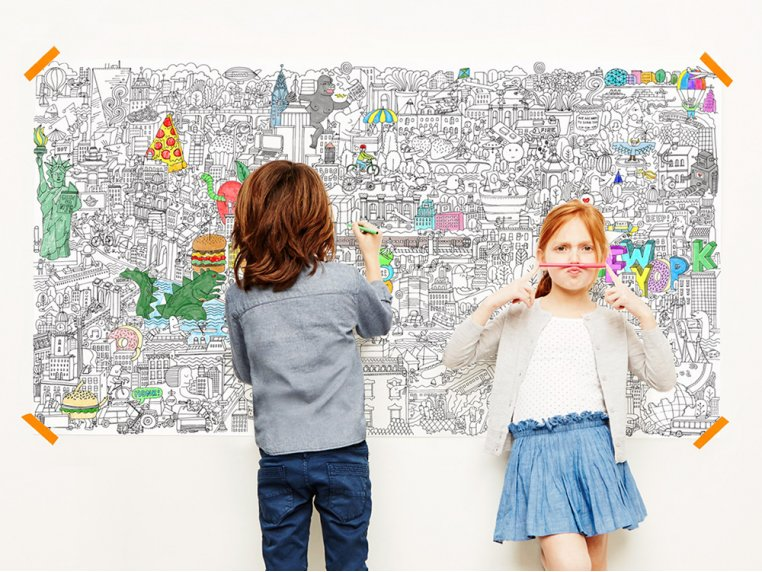 Really Big Coloring Poster by Pirasta - 6