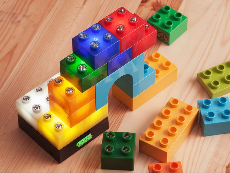 Light-up Building Blocks by Light Stax - 6