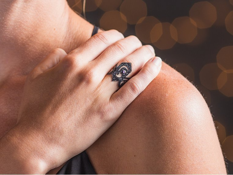 Skin Jewelry - Passionate by Black Lace - 4