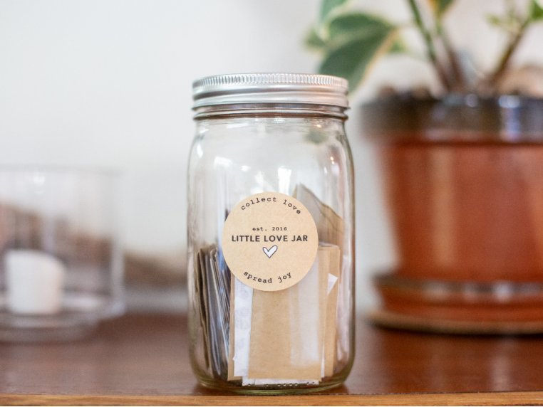 Personalized Jar Full of Loving Messages by Little Love Jar - 3