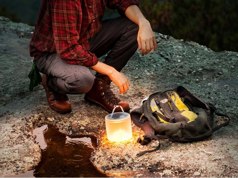 Luci Pro Outdoor 2.0: Solar Inflatable Lantern + Charger by MPOWERD - 3