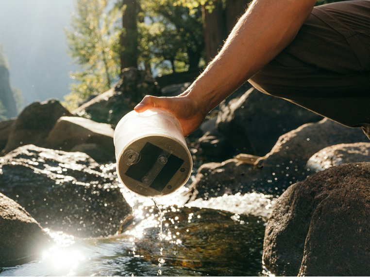 Luci Pro Outdoor 2.0: Solar Inflatable Lantern + Charger by MPOWERD - 4