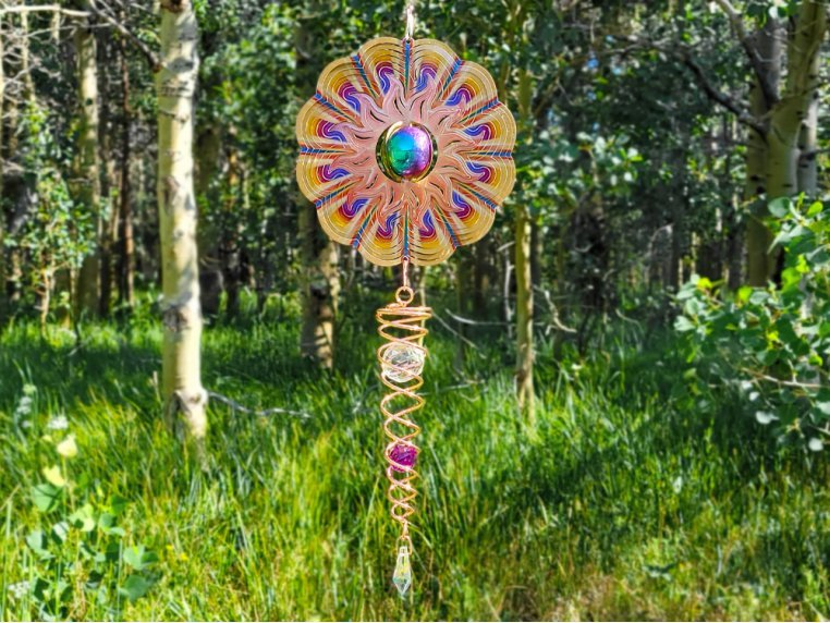 Mini Metal Wind Spinner Set by Spinfinity Designs - 3