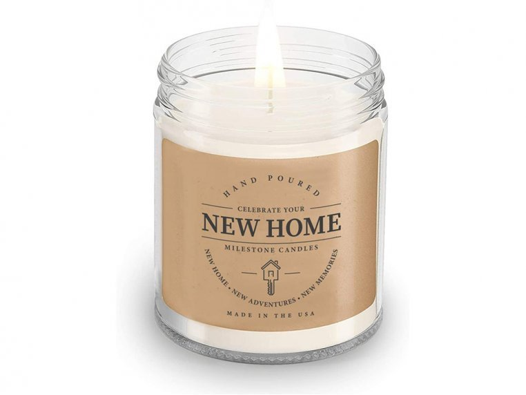 New Home Mason Jar Candle by Milestone Candles - 1
