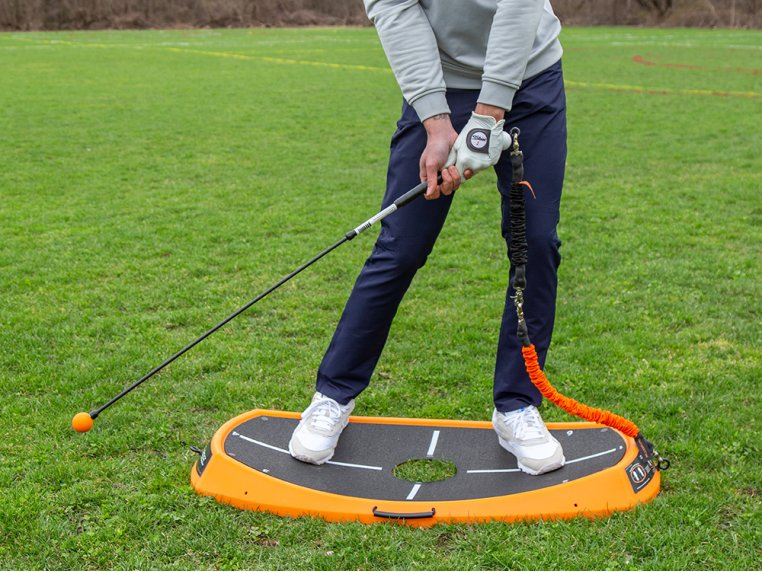 Golf Power Swing & Exercise Trainer by Orange Whip - 3