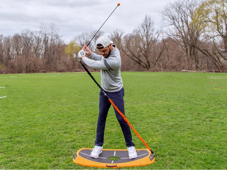 Golf Power Swing & Exercise Trainer by Orange Whip - 2