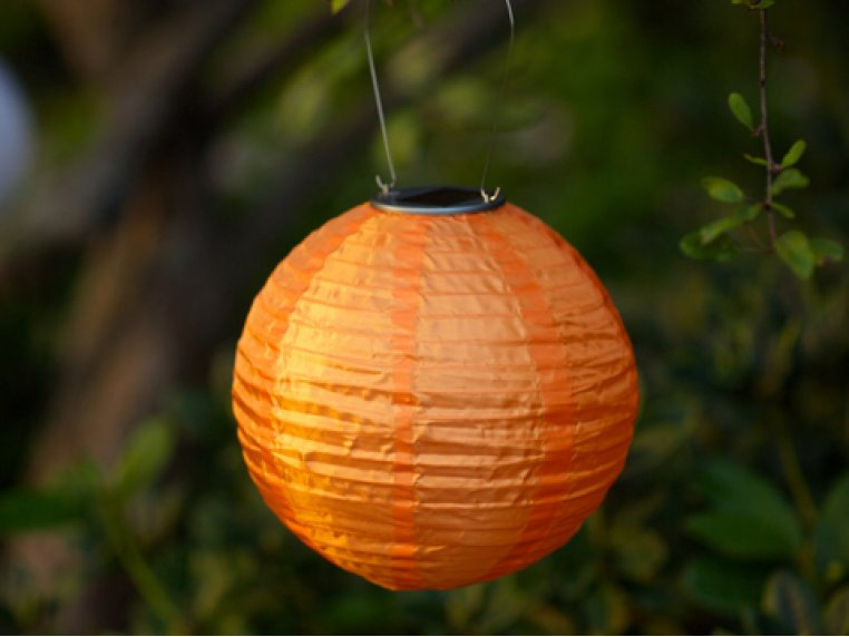 Soji Solar Nylon Lantern by Allsop Solar Lighting - 5