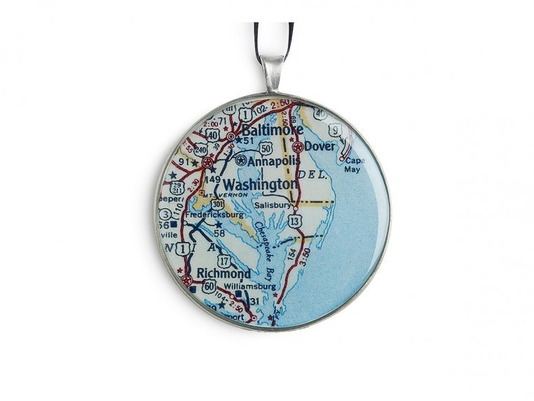 Archipelago Ornament by CHART Metalworks - 3