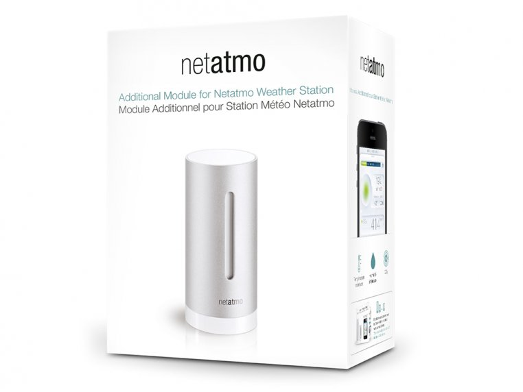 Weather Station Indoor Module by Netatmo - 4