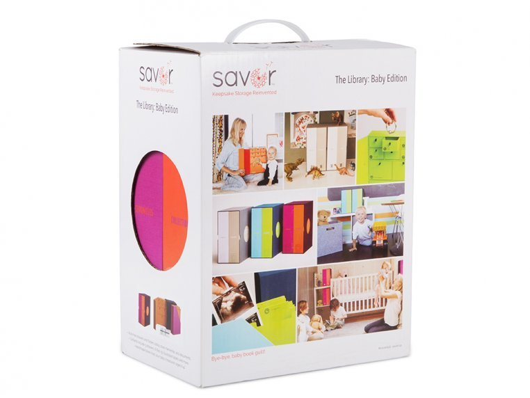 Baby Keepsake Organizer by Savor - 9